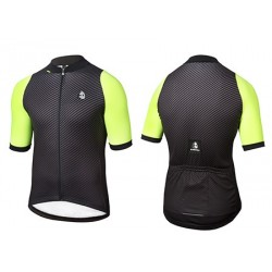 MAILLOT M.C CARBONO NEGRO-A.FLUOR
